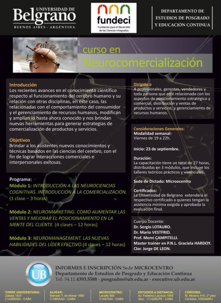 Introducción a la Neurocomercialización